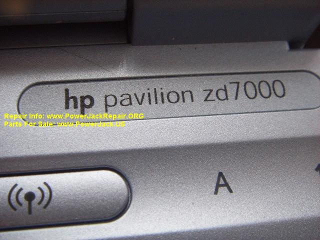 Hp Pavilion ZD7000 fried motherboard near the dc jack