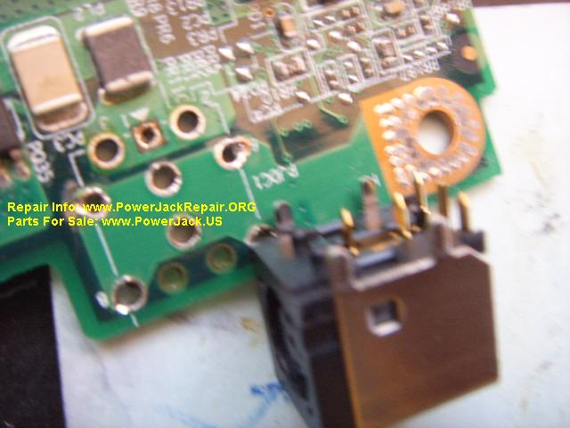 Dell Inspiron 9300  PP08L Socket replacement