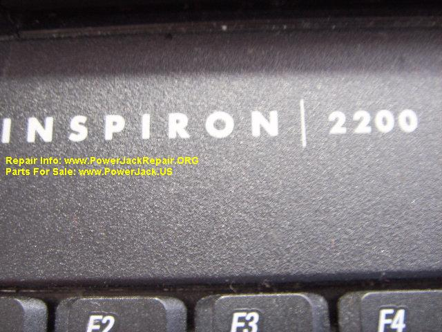 Dell Inspiron 2200 power port replacement