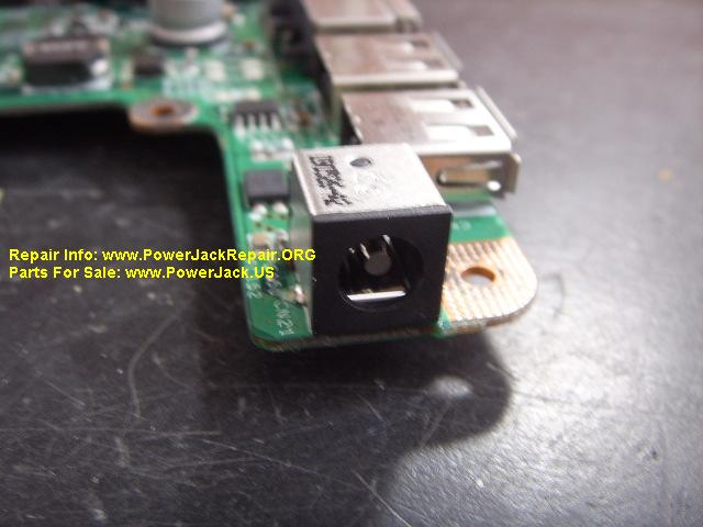 Gateway MT6707 power port replacement