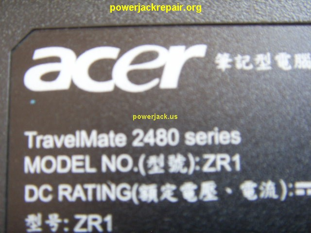 2480-2968 travelmate series acer dc jack repair socket port