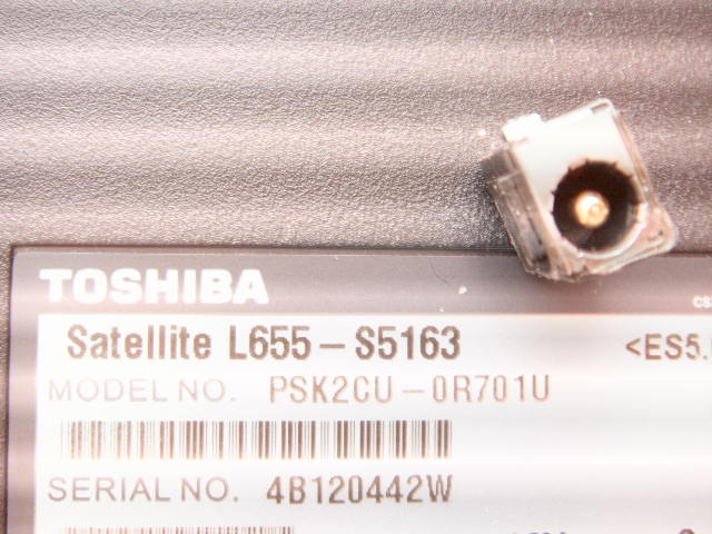 l655-s5163 psk2cu toshiba dc power jack socket connector port