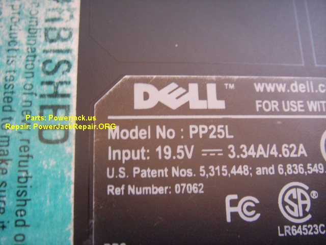 Dell XPS M1330 PP25L jack replacement octagonal hexagonal