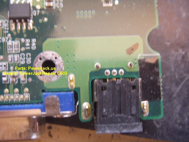 Dell Latitude X1 Jack Replacement