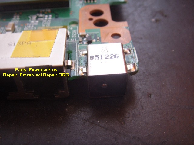 presario v4000 model of compaq port connector socket dc jack