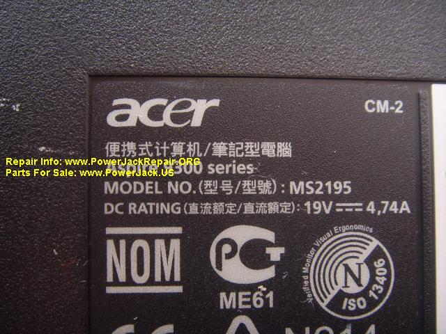 Acer Aspire MS2195