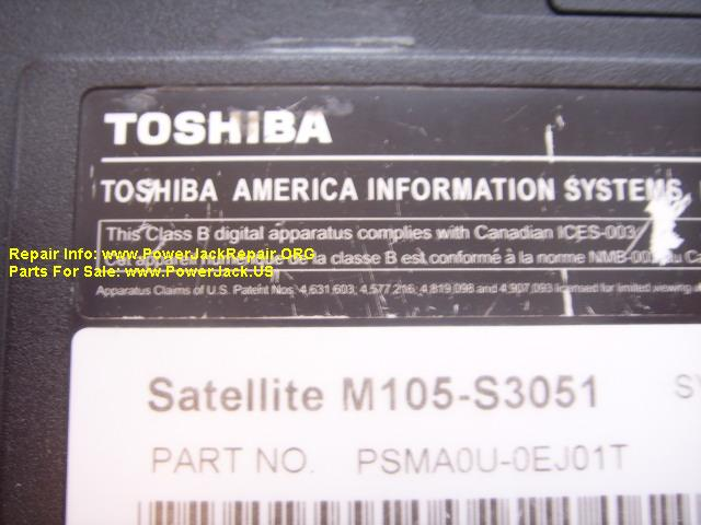 Toshiba Satellite M105 S3051