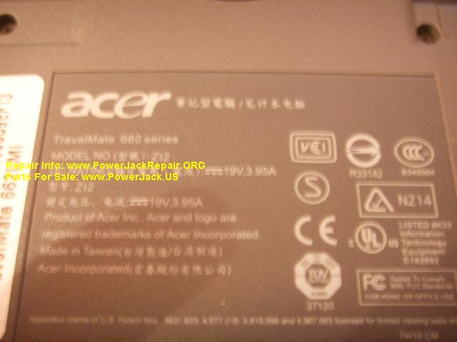 Acer Travelmate 560