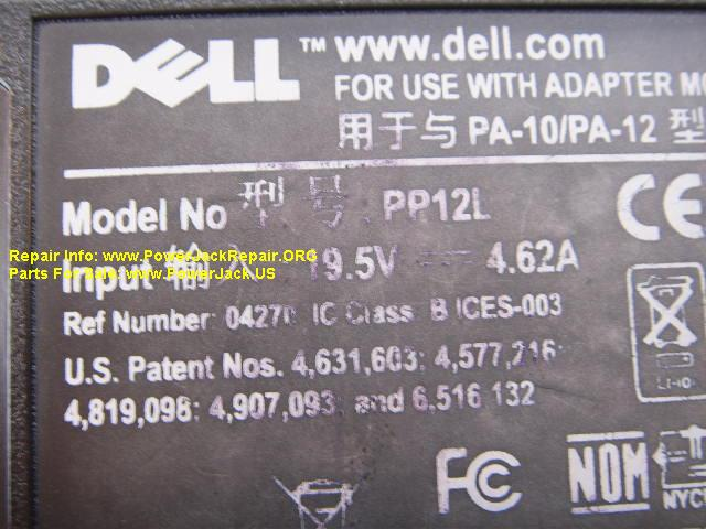 Dell Inspiron 6000 series pp12l