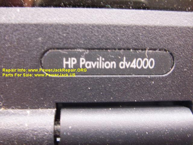 HP Pavilion DV4000 Model
