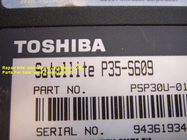 Toshiba Satellite S35-S609
